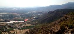 Uitzicht op Alhama de Murcia