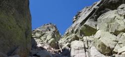 Ascent to the Portilla del Crampón