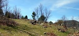 Pad naar de Cerro de la Pedriza