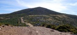 Uitzicht op Pico Casillas