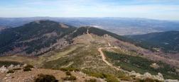 Vistas desde Pico Casillas