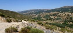 Uitzicht over het dal van de Rivier de Tormes