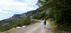 Onverharde weg via Haya Seca