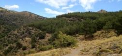 Vista desde el sendero al Aguadero