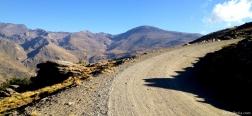 Weg naar de Alto del Chorrillo