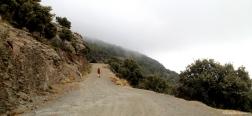 Weg naar de Loma de los Cotos