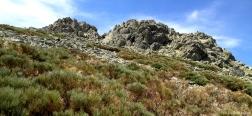 Uitzicht op weg naar Bailanderos