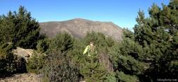 Abstieg vom Pico Pendón