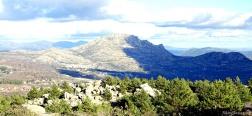 Aussicht auf die Sierra de la Cabrera