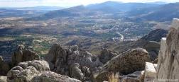 Uitzicht vanaf de Cancho Gordo