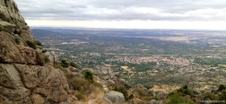Uitzicht vanaf de Collado Alfrecho