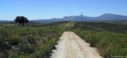 Aussicht auf die Sierra Norte