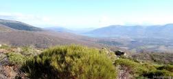 Aussicht von der Loma de Peñas Crecientes
