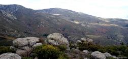 View from the Loma de Peñas Crecientes