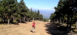 Brandgang in de Sierra de la Morcuera