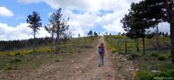 Klim naar Pico Colgadizos