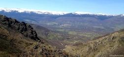 Aussicht auf Alameda del Valle