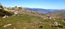 Zicht vanaf de Cerro del Águila
