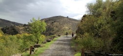 Climb from the valley of the Lozoya