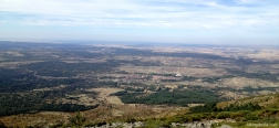 View over the province of Segovia