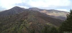 Uitzicht vanaf La Maleza