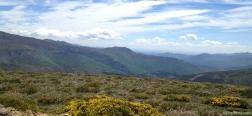 Uitzicht over de Sierra Norte