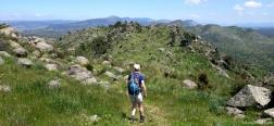 Abstieg von der Almenara