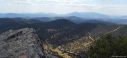 On the summit of the Almenara