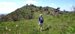 Beklimming richting de Almenara
