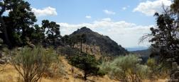 Uitzicht op de Almenara