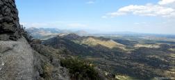 Aussicht ab der Almenara