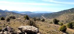 Uitzicht vanaf Prado Pellejero