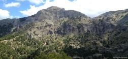 Uitzicht op de Poyos de la Carilarga