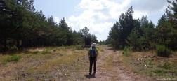 Onverharde weg naar de Cerro Zolorro