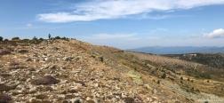 Pad naar de Alto de la Laguna
