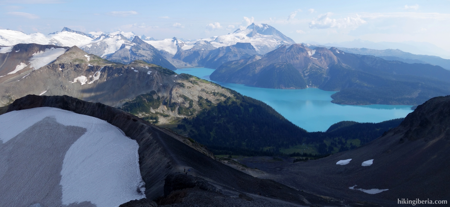 View from the Black Tusk