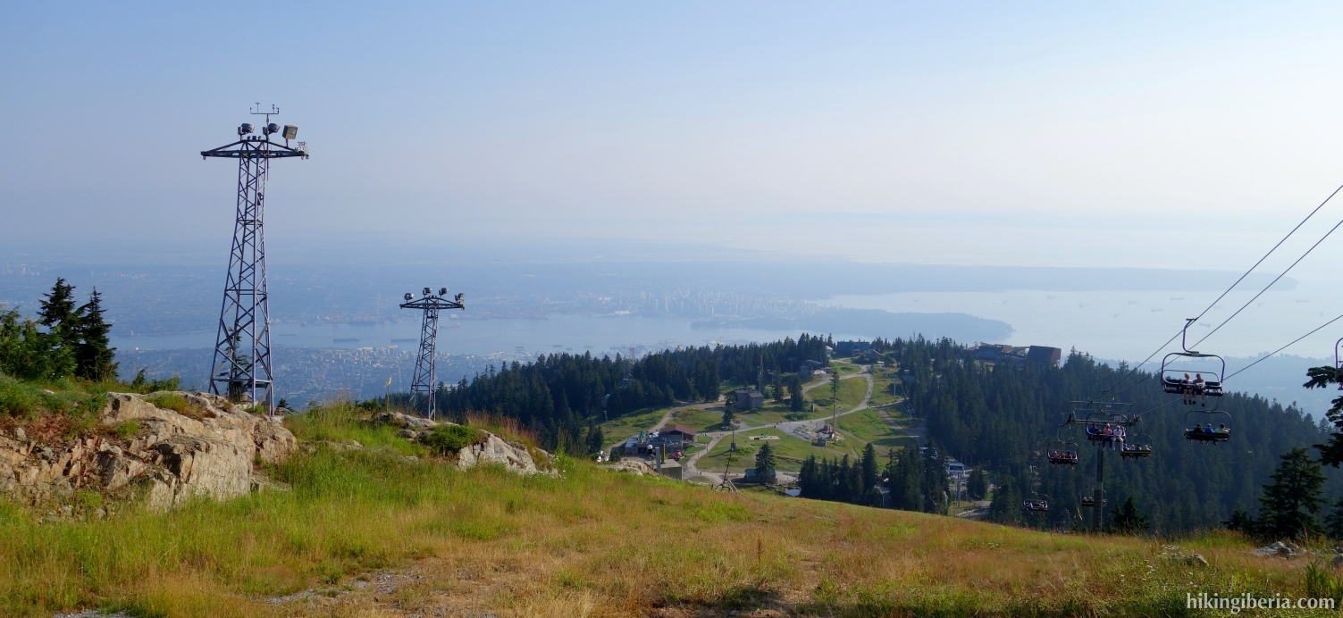 Vista desde el Grouse Mountain