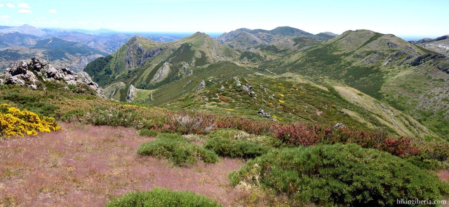 Descenso del Cerro Pedroso