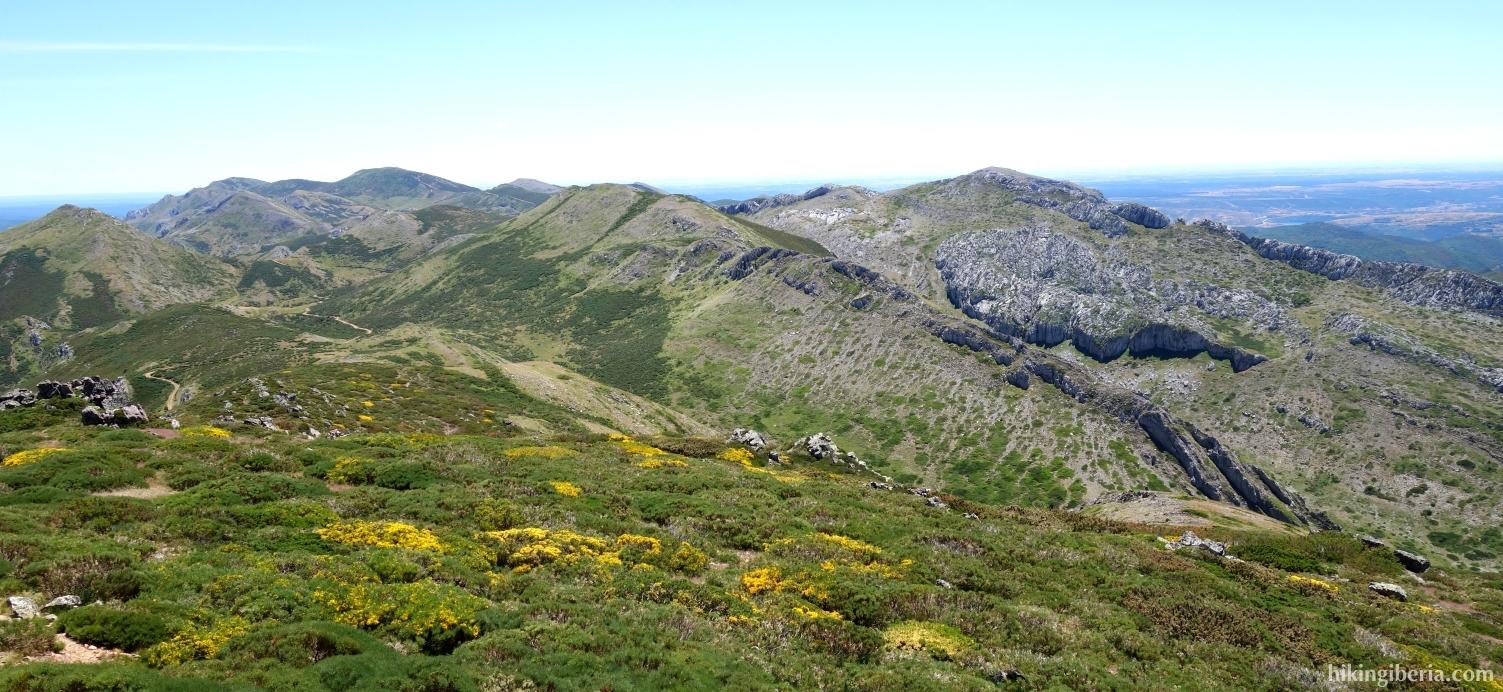 Aussicht vom Cerro Pedroso