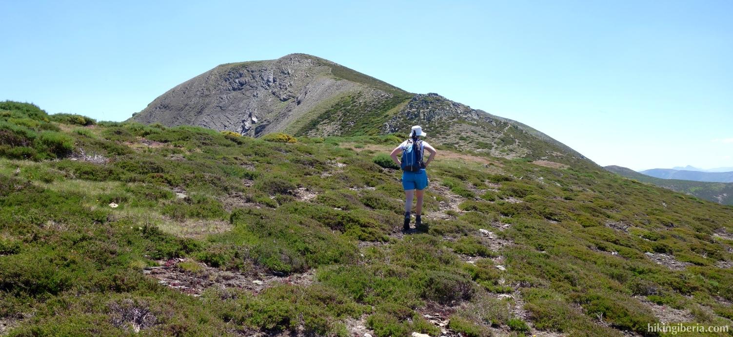 Trail near the Pico de Pisones