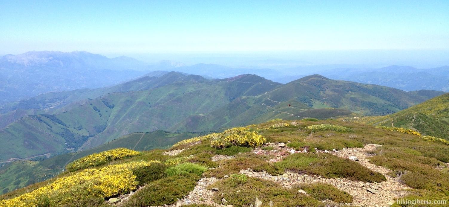 Vistas desde el Pico Tres Concejos
