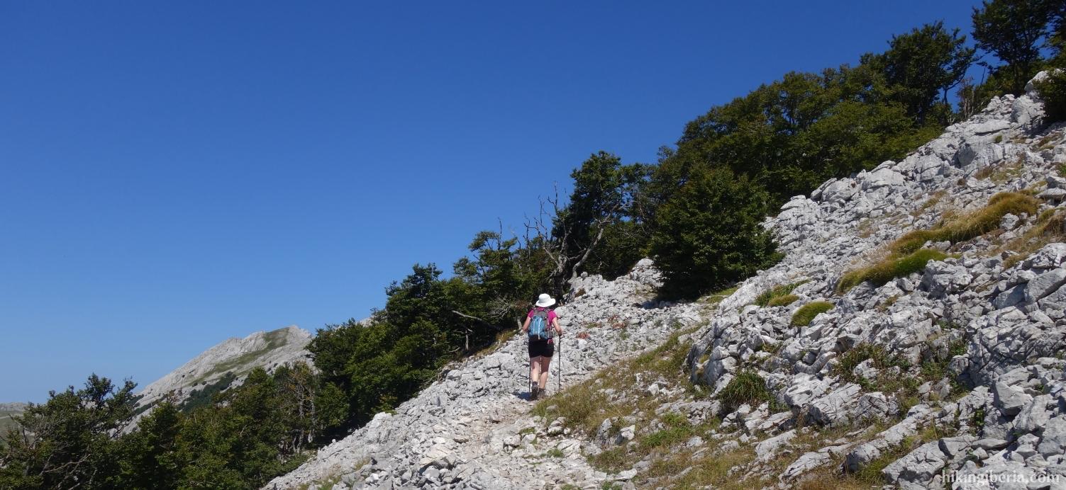 Aufstieg nach Aizkorri