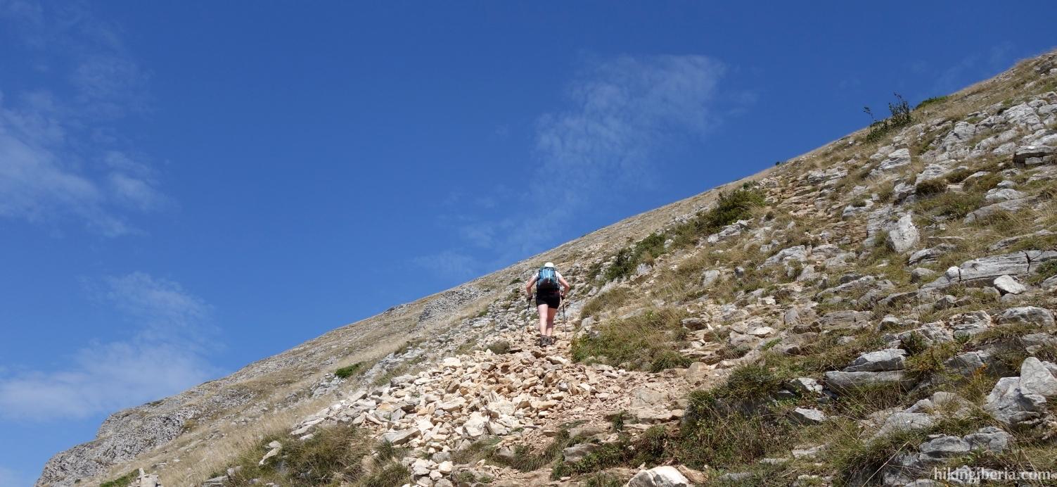 Ascenso a San Donato