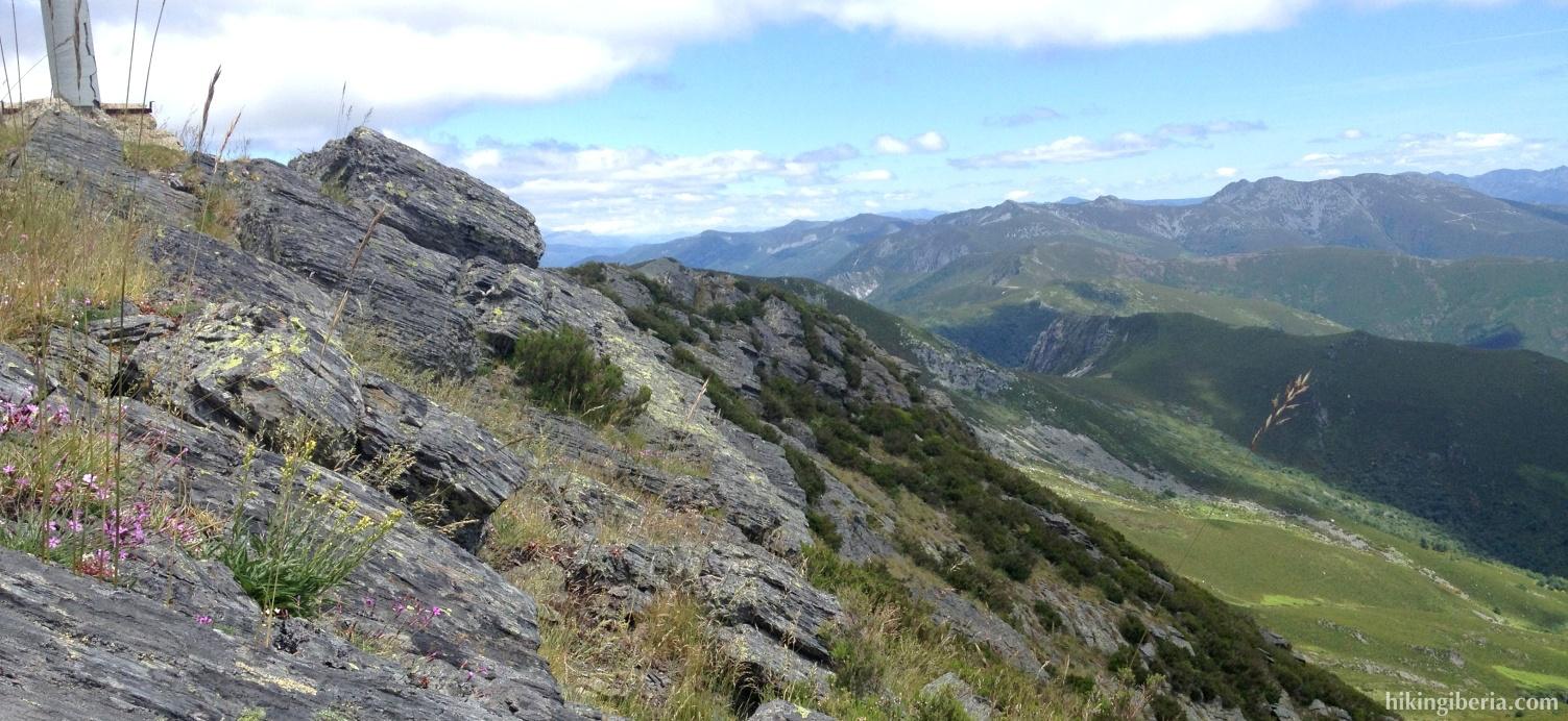 Uitzicht vanaf Teso Mular