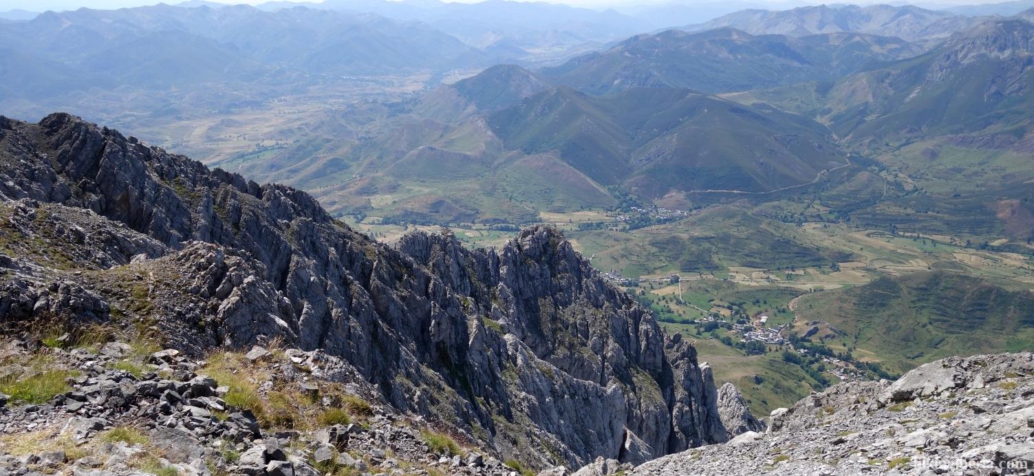 Aussicht von der Peña Ubiña