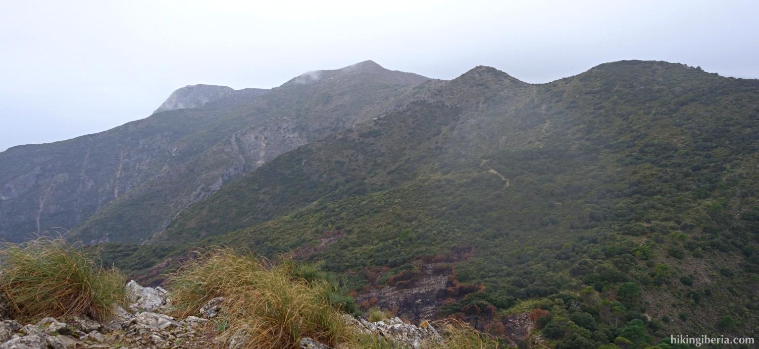Views from the Cruz de Juanar