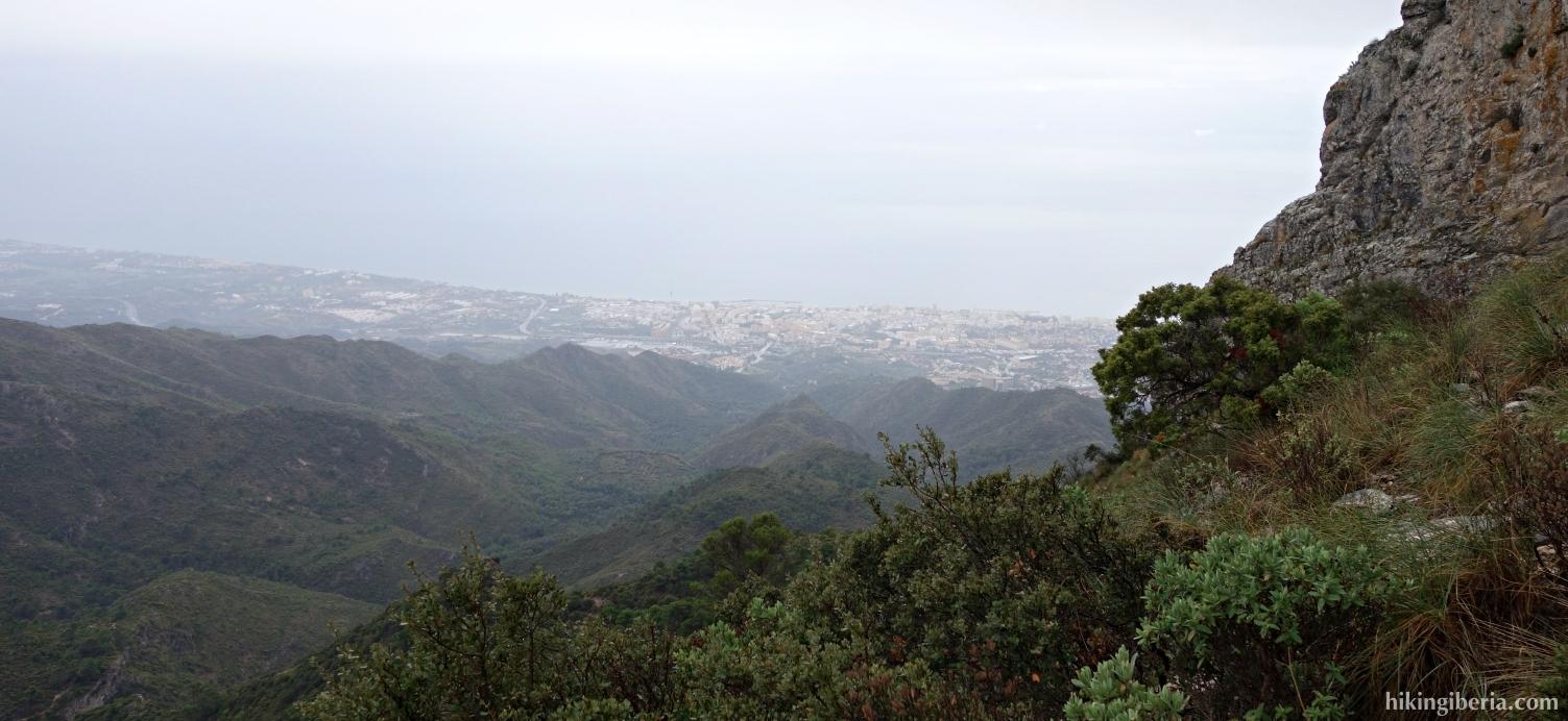 Ausscicht auf Marbella