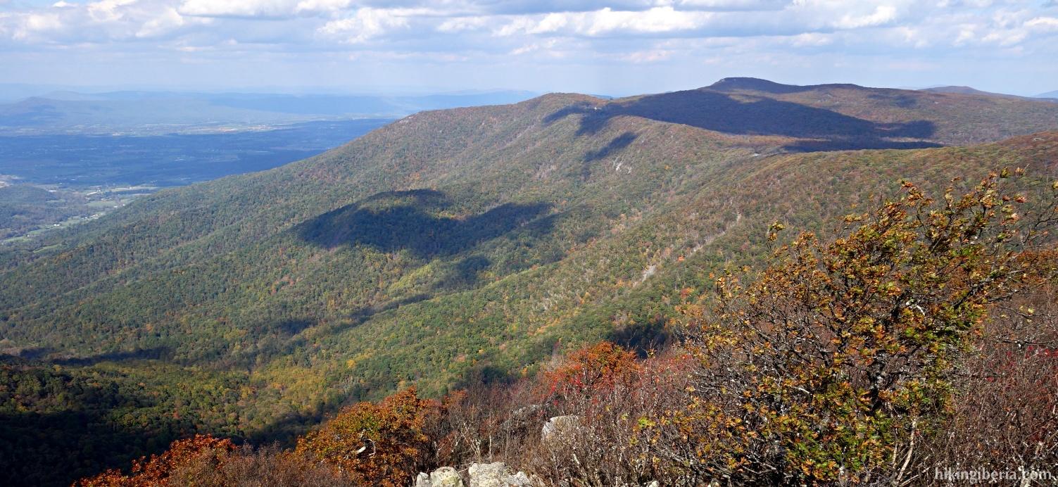Views from the Hawksbill Summit