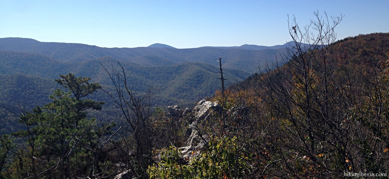 En el Brown Mountain Trail
