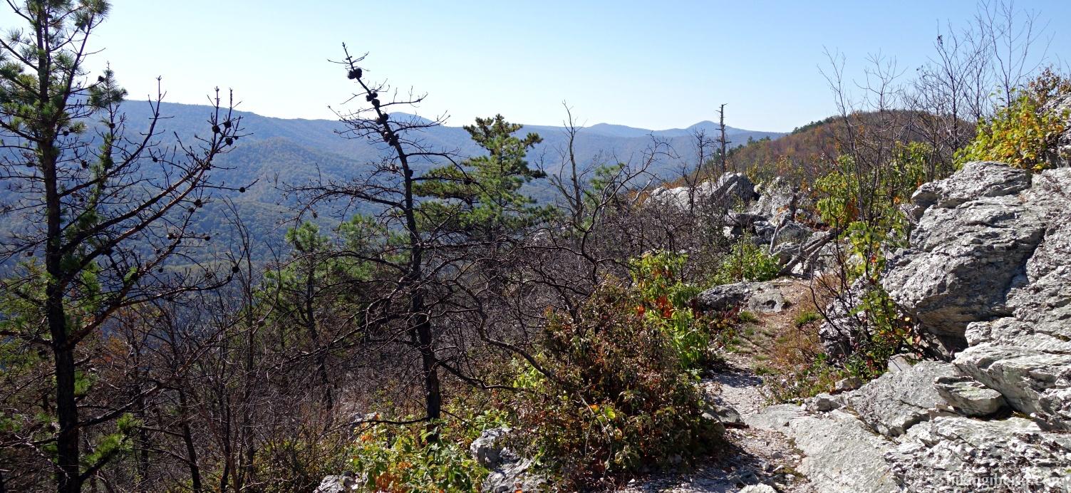 Aussicht ab der Rocky Mountain
